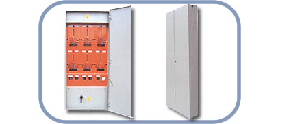 Electric meter boxes for multiple-unit housing constructions