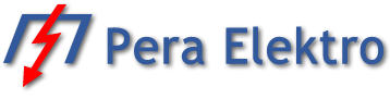 Merni elektro razvodni ormani za brojila – Pera Elektro Logo