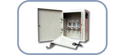 Entrance cable cabinets
