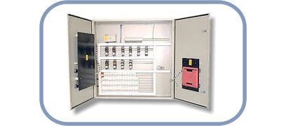 Thermal substation box