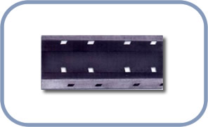 Perforates cable carrier U shaft